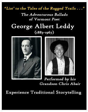 G. A. Leddy Ballads performed by Chris Abair